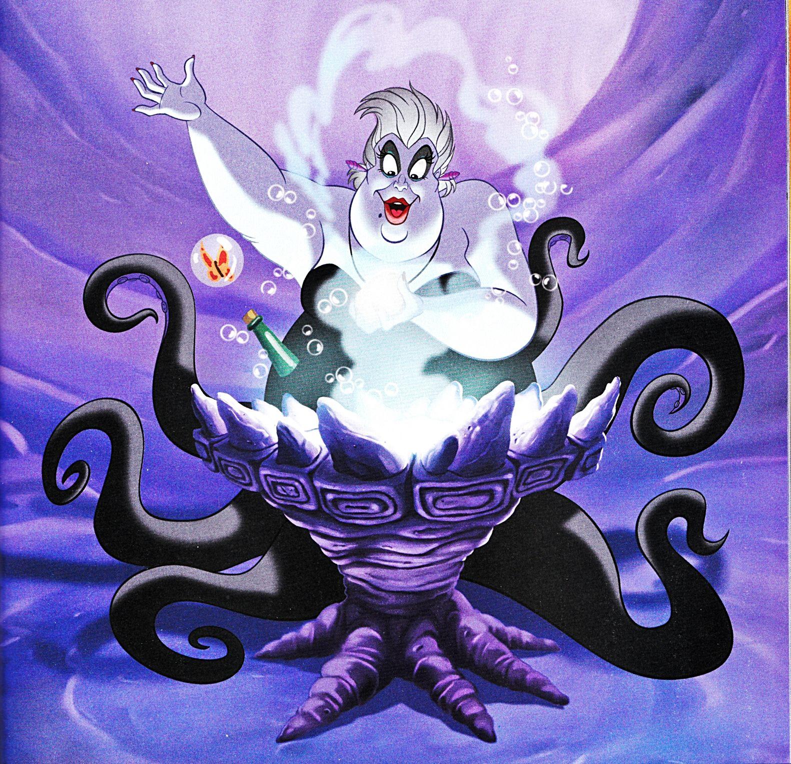 Ursula Ursula Disney Mermaid Coloring Book Disney Drawings