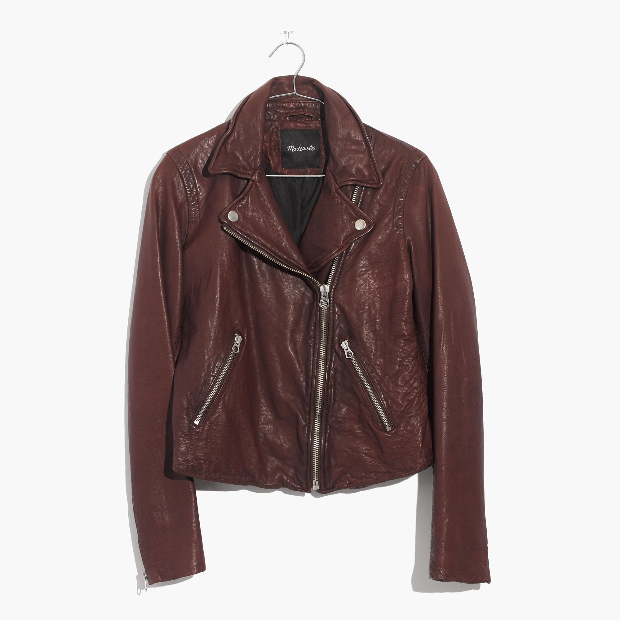 Women S Washed Leather Motorcycle Jacket Brown Leather Motorcycle Jacket Dark Brown Leather Jacket Motorcycle Jacket Women [ 2000 x 2000 Pixel ]