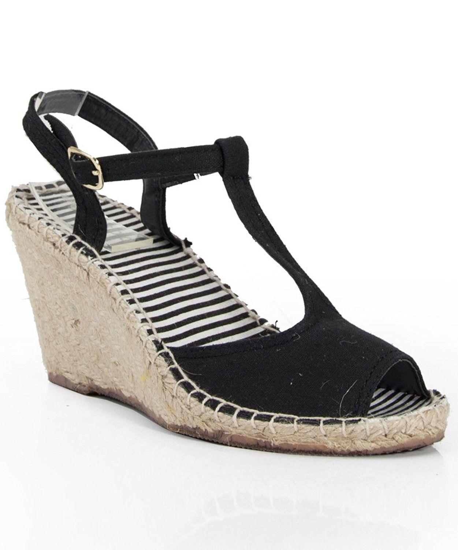 sandals elena black wedges b regular us i australia comfort eu comforter size m ugg