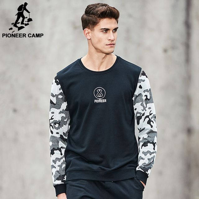 We love it and we know you also love it as well Pioneer Camp New Spring hoodies men brand clothing patchwork Camouflage sweatshirt male top quality fashion tracksuit  AWY701057 just only $19.89 with free shipping worldwide  #hoodiessweatshirtsformen Plese click on picture to see our special price for you