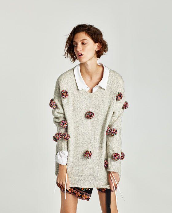 Zara 139zl Sweter Na Jesien 2017 Women Sweaters Winter Sweaters For Women Cardigan Fashion