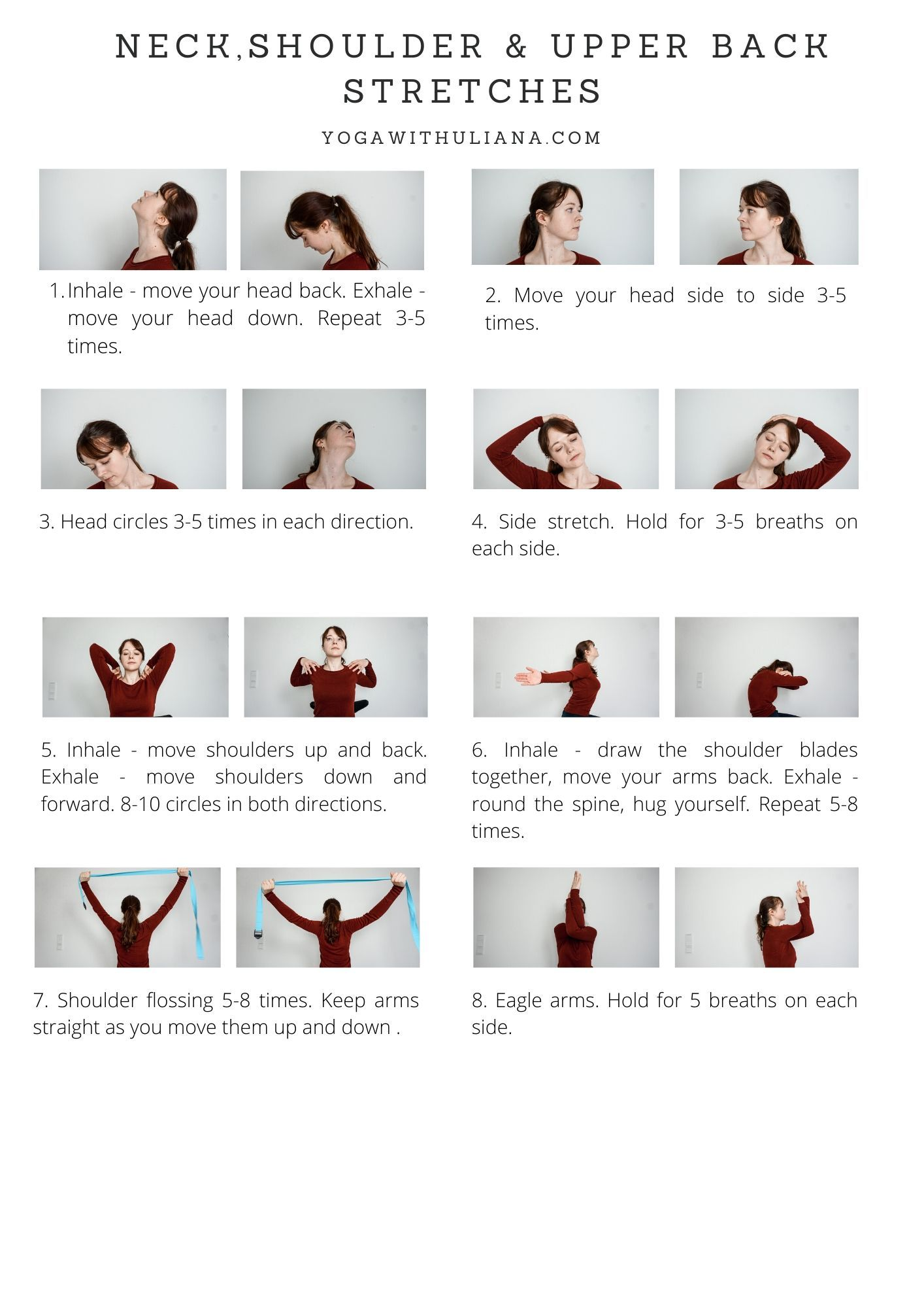 21+ Upper back and shoulder stretches ideas in 2021