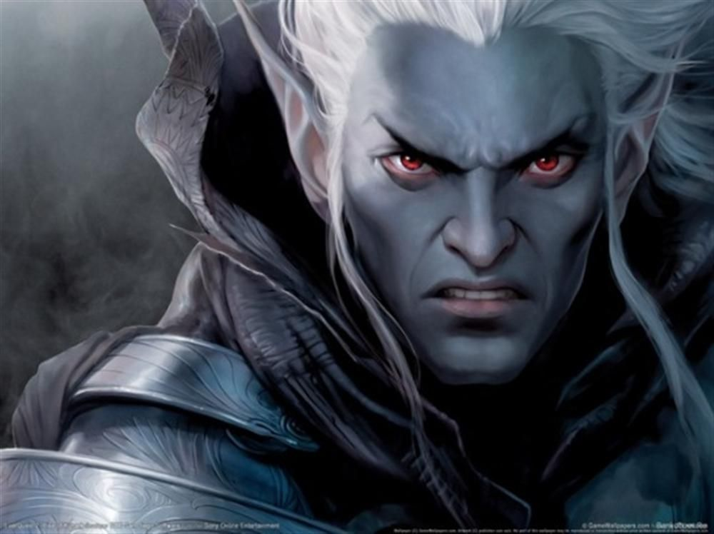Image result for male drow warrior art