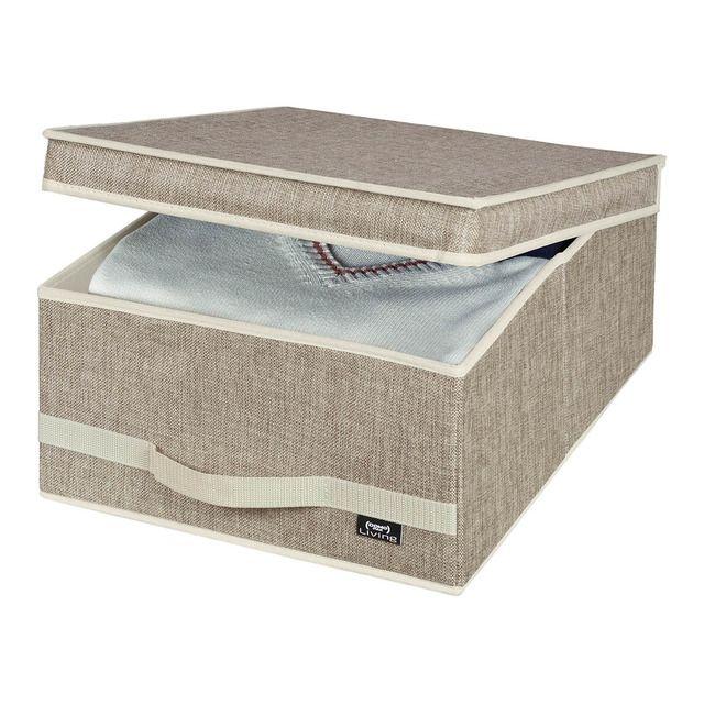 Caja organizadora domopak living maison organizaci n for Cajas almacenaje ropa