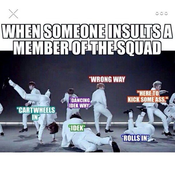 Funny Meme Kpop Bts And Exodus : Bts funny kpop meme image by winterkiss on