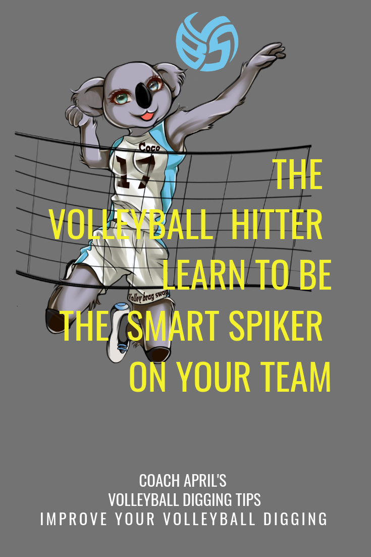 The Volleyball Hitter Learn How To Be The Smart Spiker On Your Team Volleyball Hitter Volleyball Volleyball Skills