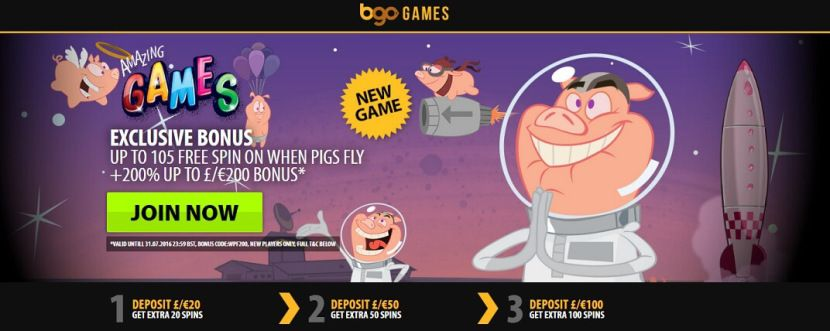 New NetEnt Slot When Pigs Fly Released