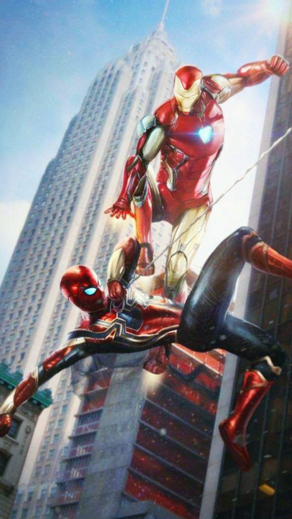 Avengers Endgame ironman spiderman Marvel wallpaper