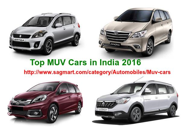 View The List Of MUV Cars In India Check Out Car Price
