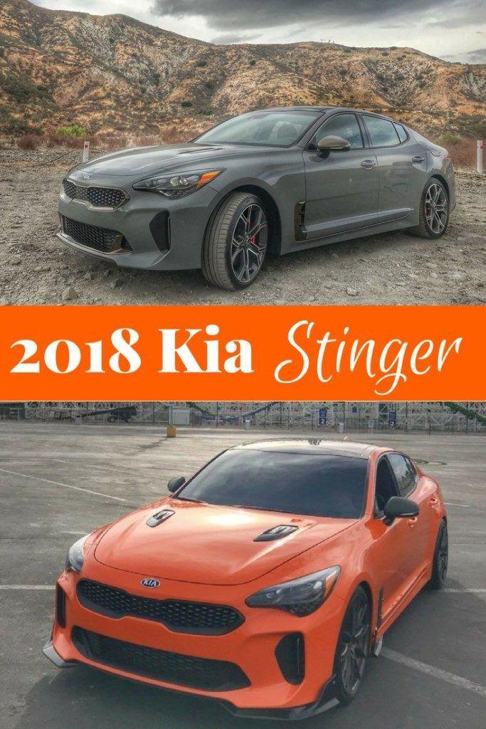 2018 Kia Stinger Gt Kia Stinger Cool Sports Cars Kia