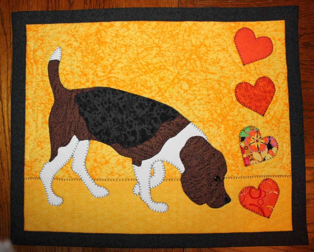 Looking for quilting project inspiration? Check out Beagle Love ...