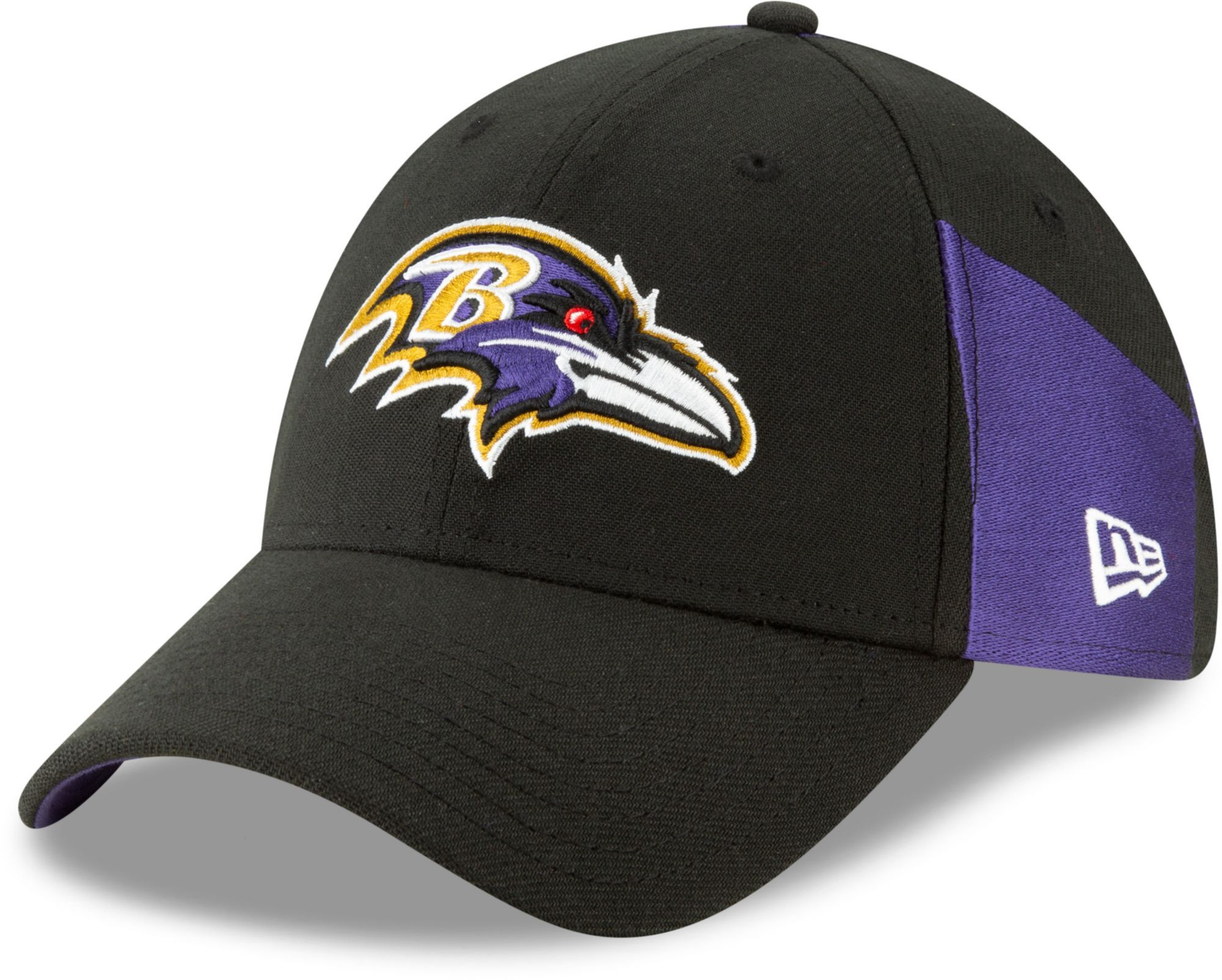 73ed13230fd60 New Era Men s Baltimore 2019 Draft 39Thirty Stretch Fit Black Hat in ...