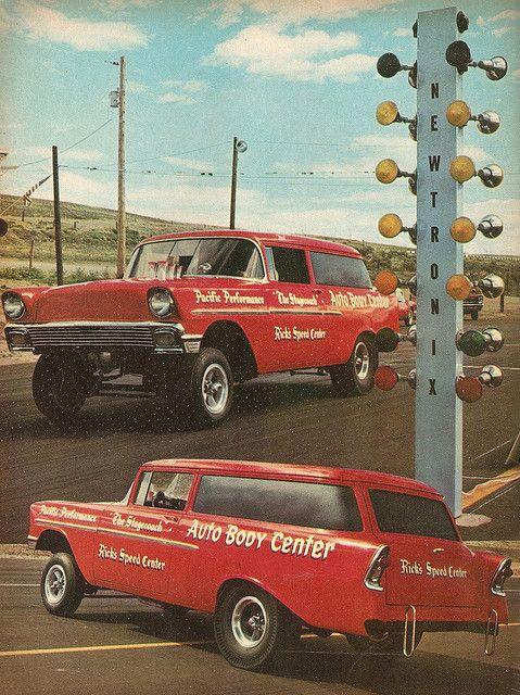 Hemi powered '56 Chevy Handyman Delivery