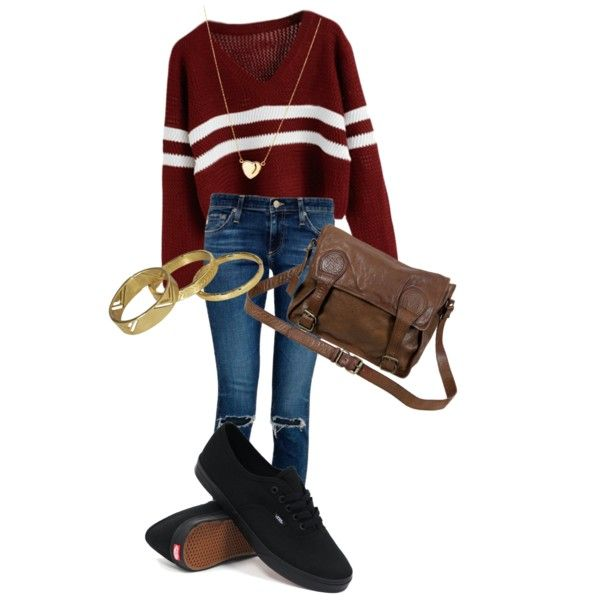 A fashion look from March 2015 featuring AG Adriano Goldschmied jeans, Vans sneakers and VIPARO messenger bags. Browse and shop related looks.