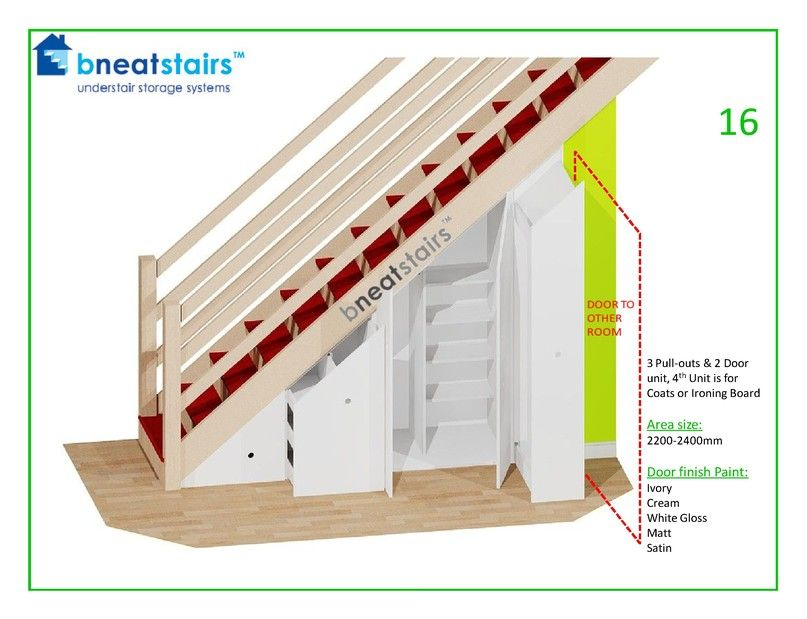 Under Stairs Storage Systems Stair E Solutions From Bneatstairs