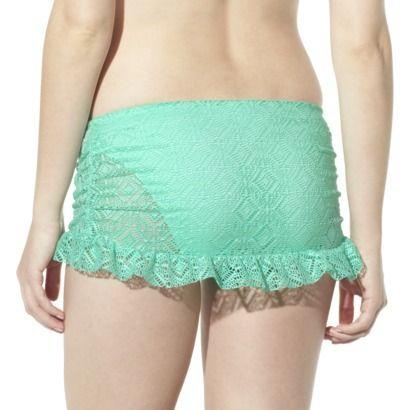 Mossimo® Women's Crochet Mix and Match Skirtini -Isle Green