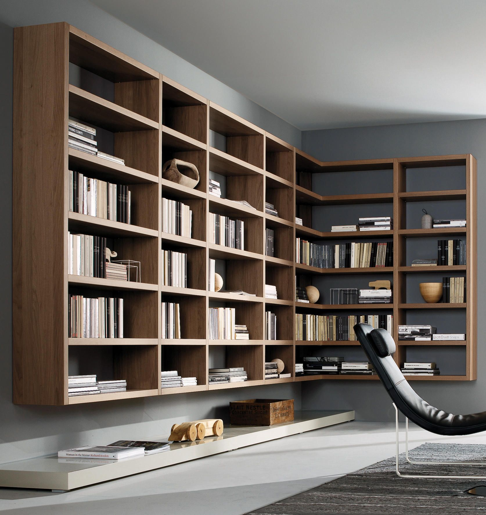 Crossing  Shelving From Misura Emme - Architonic Bookshelf Ideas
