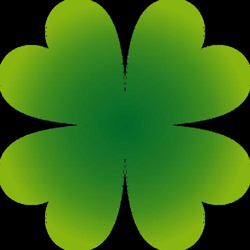 Dört Yapraklı Yonca Vektör Görüntü Alınacak şeyler Four Leaf