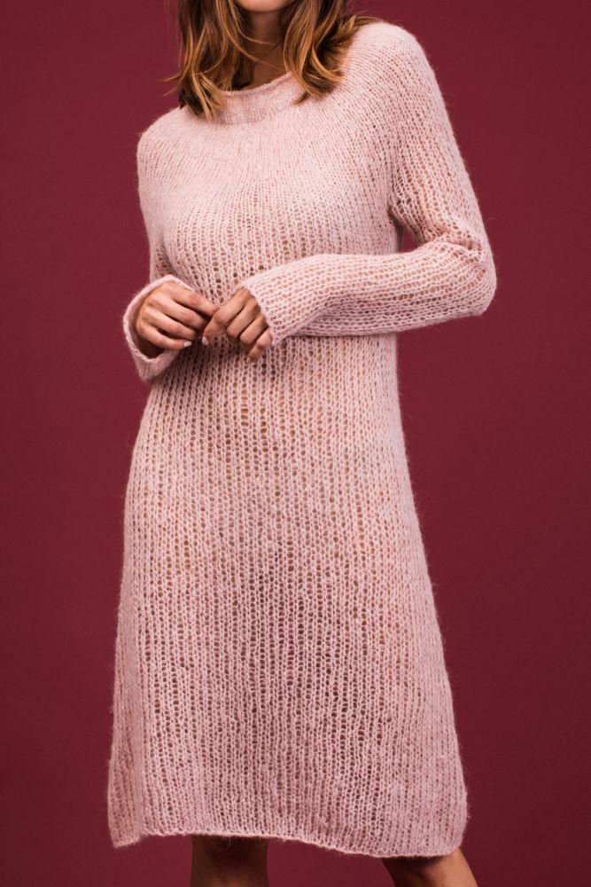 Kleid stricken | kostenlose Strickanleitung | Häkeln | Pinterest ...