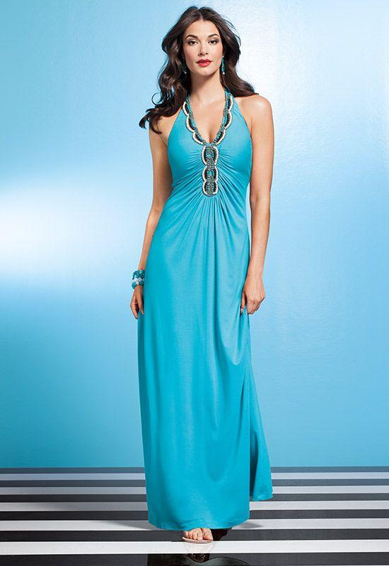 Lace Applique Open Shoulder Bell Sleeve Dress   Simple