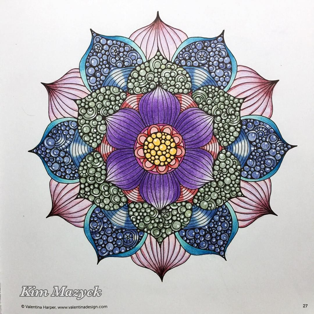 From Color Me Calm Coloring Book