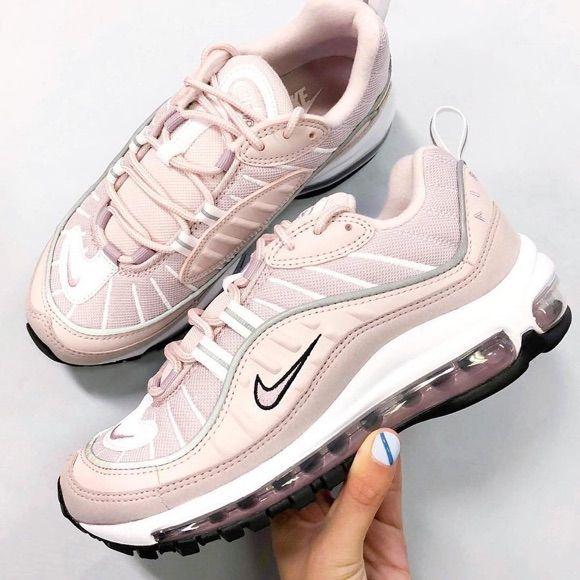 On veut les Nike Air Max 98 rose pâle ! #nike #nikeairmax #baskets