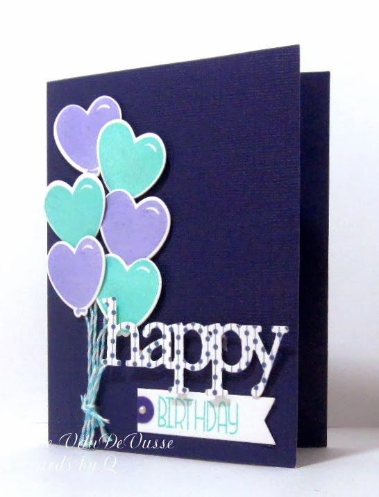 Cards By Q 6 Balloons For A Year Old