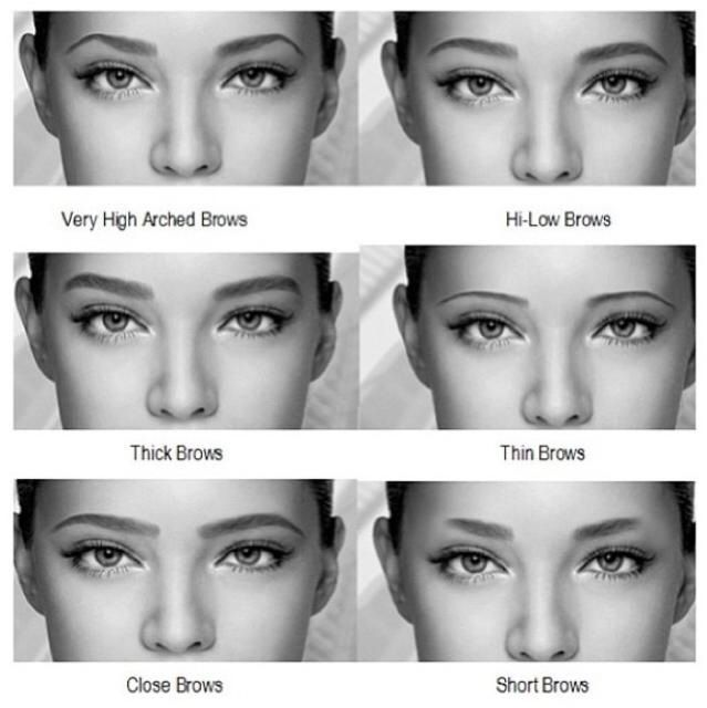 how to choose eyebrow shape