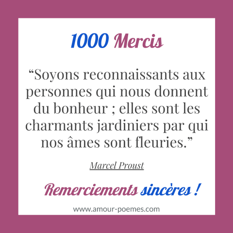 Citation Merci Message De Remerciement Original Citation