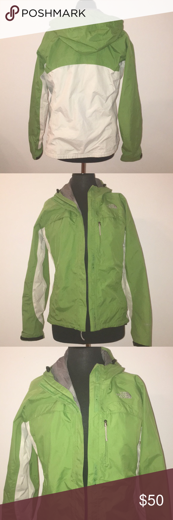 North Face Hyvent Jacket Lime Green And White Rain Jacket The North Face Jackets Coats North Face Hyvent Jacket North Face Hyvent White Rain Jacket [ 1740 x 580 Pixel ]