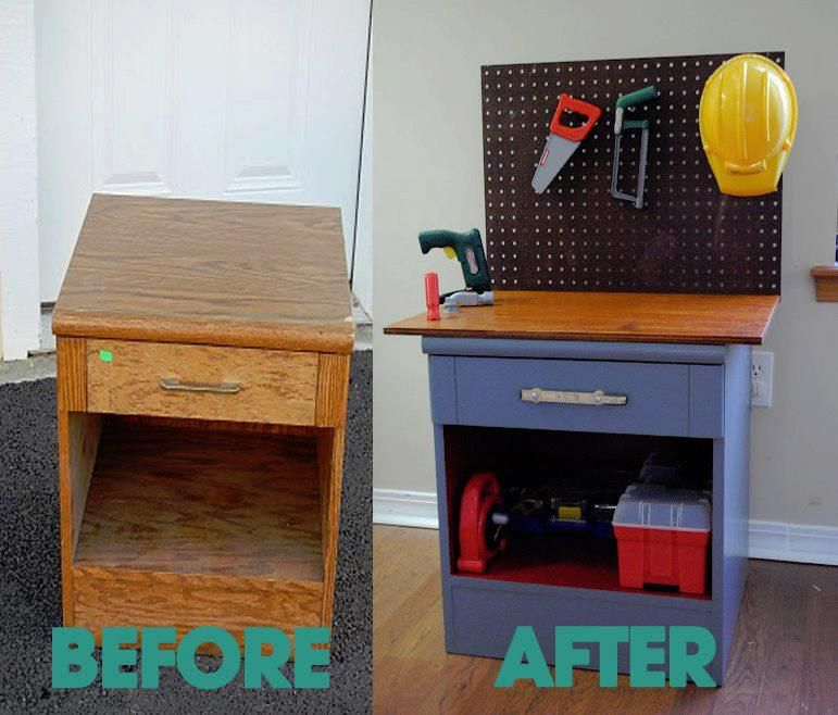 Diy Workbench Upgrades: Side Table Upgrade- If Krish Cant Have A
