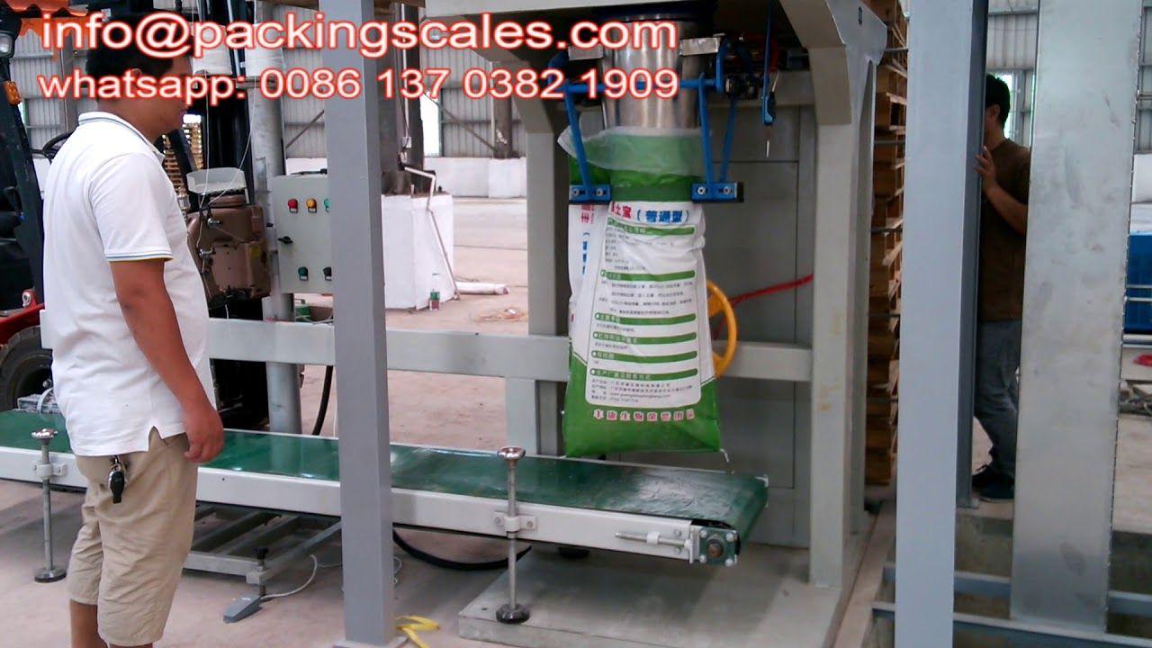 Auto Packing Machine 20kg 50kg In 2020 Packing Machine Packing Machine