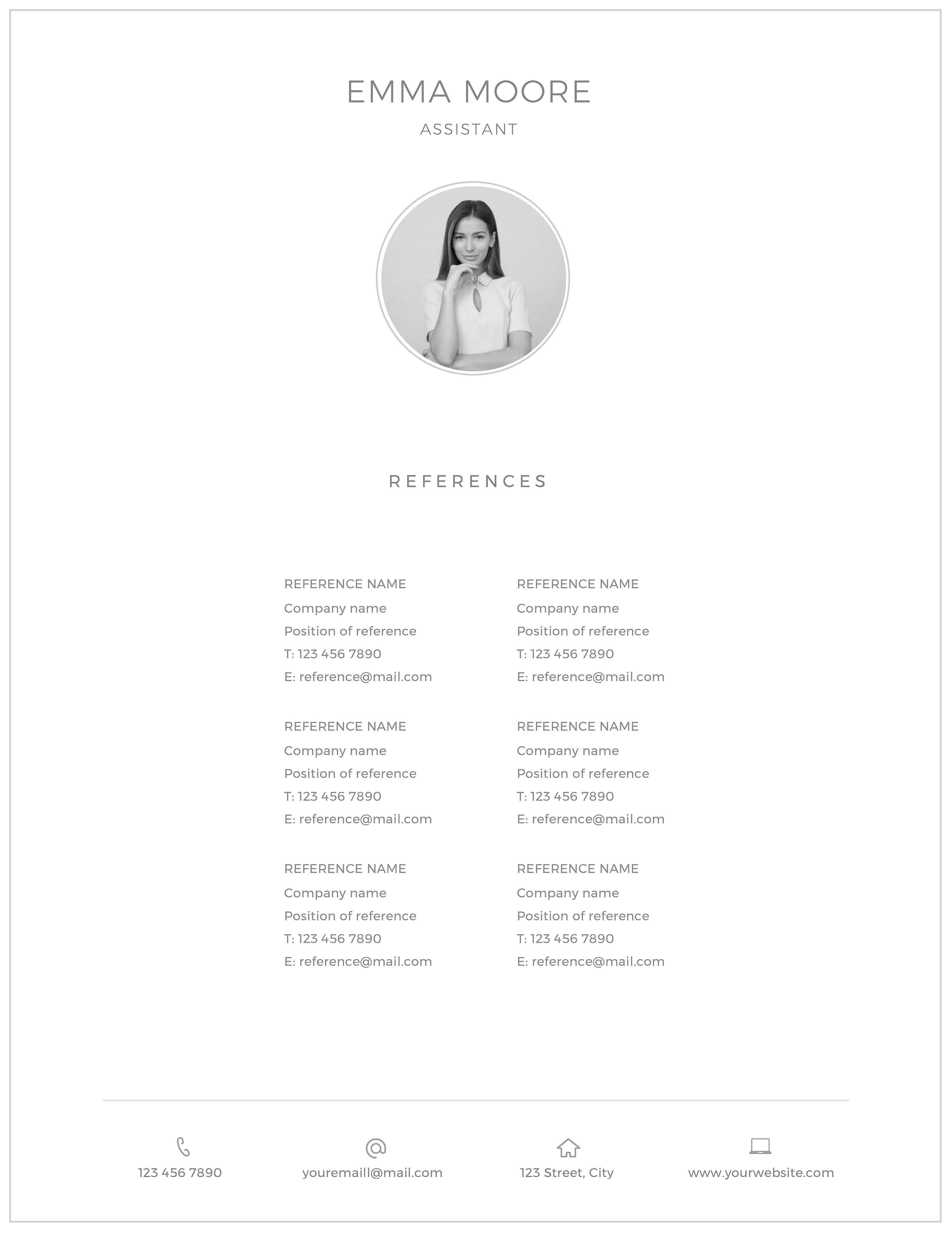 Resume Template / CV Resume template, Free resume