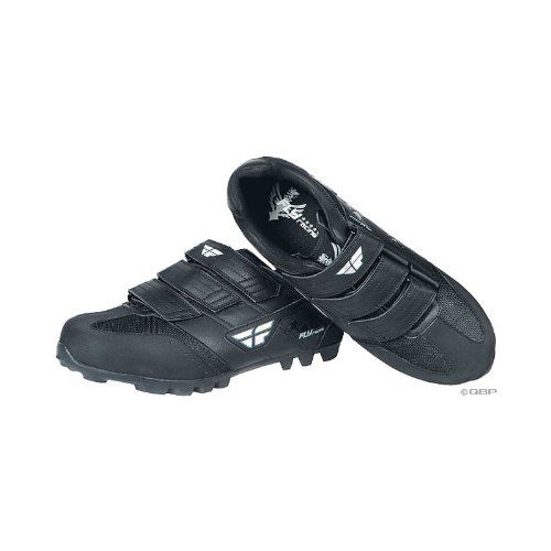 $79.05-$69.95 Fly Racing Talon II SPD Shoes Black Size 7 - Talon II features durable synthetic leather construction and ventilation.Mesh for ventilationThree-strap Velcro designSPD-compatibleSuper stiff sole and nylon toe and heel offer additional protection and support3-strap design helps put power to the pedalsItem SpecificationsColorBlackShoe Size7GenderMen'sShoe WidthStandardCleat Bolt Pattern ...