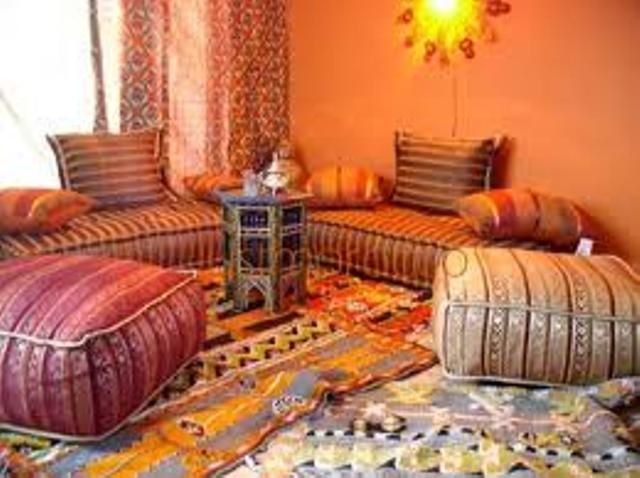 Arabian living room asian arabian themed living room for Arabic living room decoration