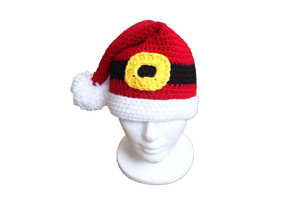 Santa\'s Favorite Crochet Hat | Gorros crochet, Gorros y Tablero