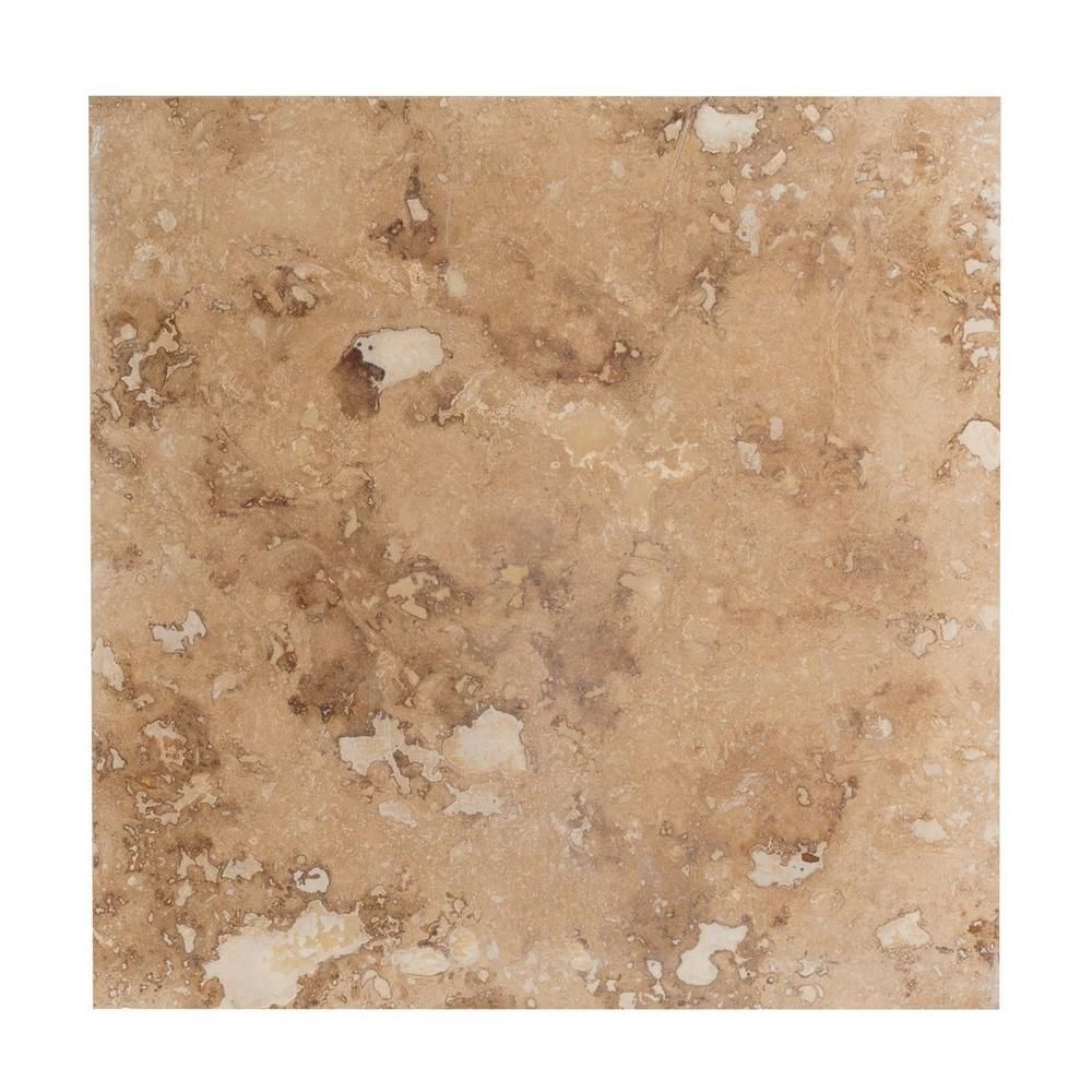 Paros honed filled travertine tile x floor and