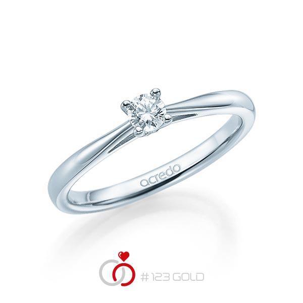 Breite diamantring