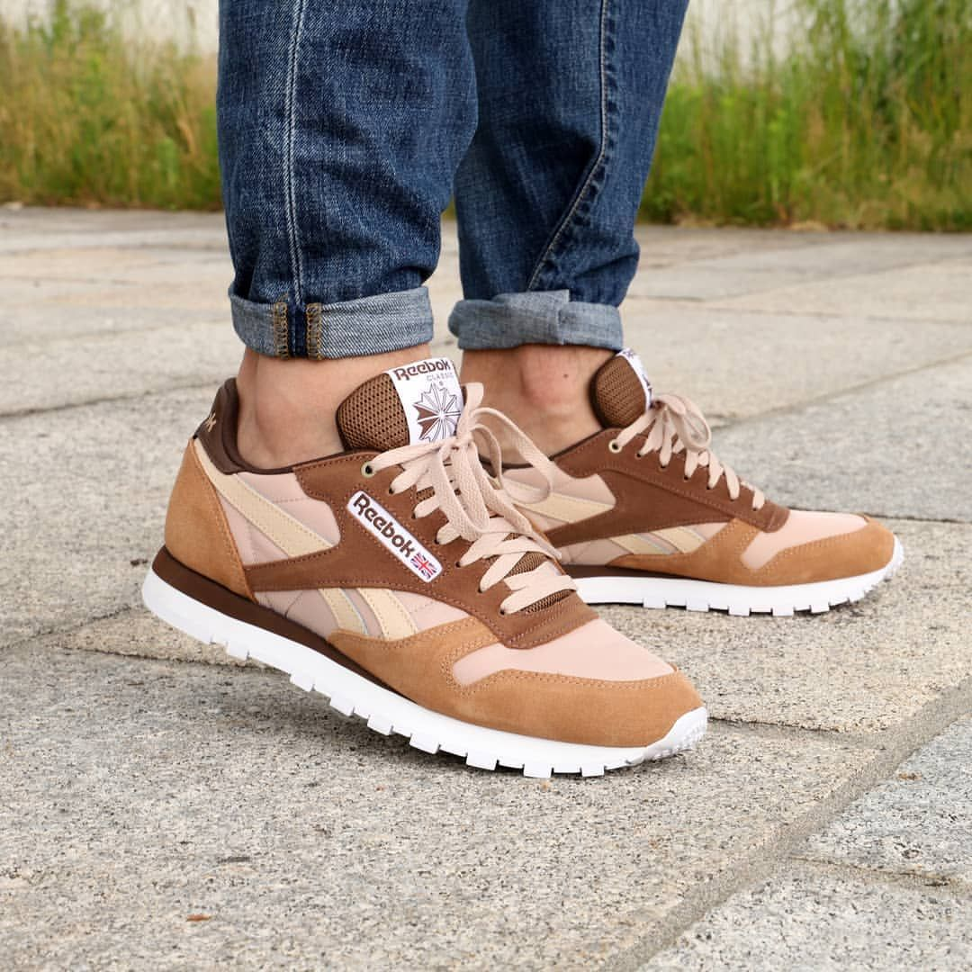 1686d9e14be2 Reebok Classic Leather Mccs  Cappuccino Toffee   Roks Kicks in 2019 ...