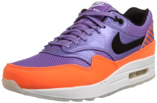Nike Mens Air Max 1 Fb Premium Qs Violet Black Orange 10 M