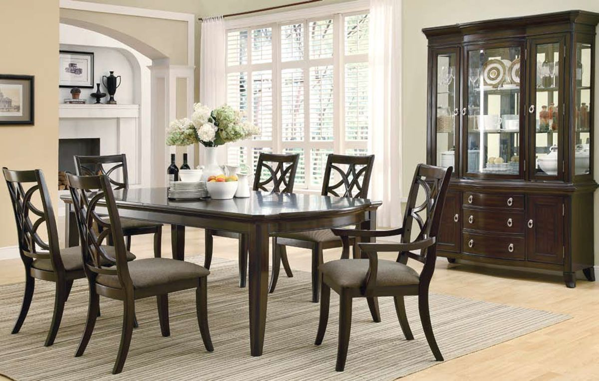 Meredith Casual Espresso Dining Room Set | Kitchen, Dining U0026 Bars | The  Classy Home | Best Deal Furniture