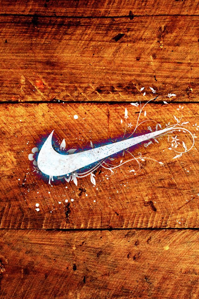 Wooden Nike Logo Nike Wallpaper Nike Fashion Nike Logo