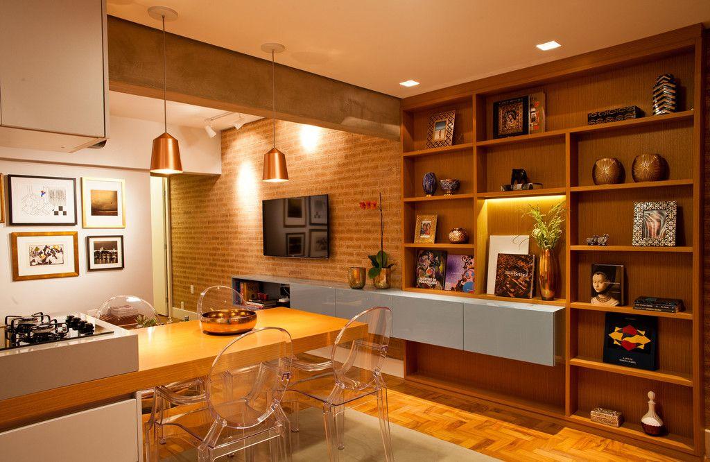 Apartamento Alameda Jaú : Salas de jantar modernas por studio scatena arquitetura