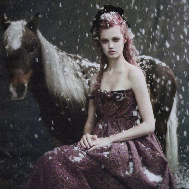 Lindsey Wixson Dartsmoor Pony