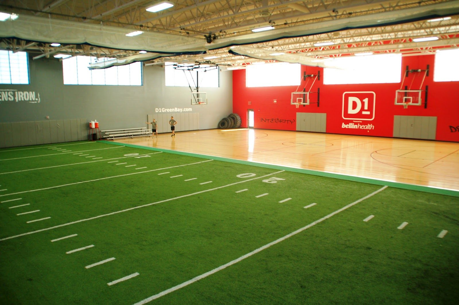 D1 Sports Green Bay (With images) Indoor sports, Home