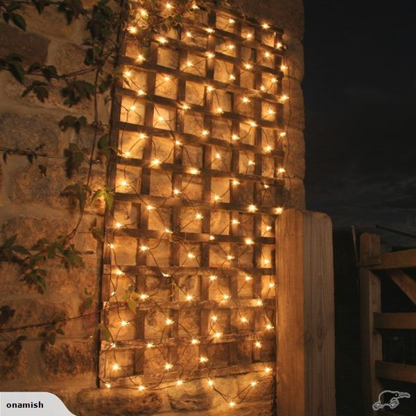 new product 1bbec a57aa Solar Fairy Light Net 150 LED (Warm White) | Trade Me ...