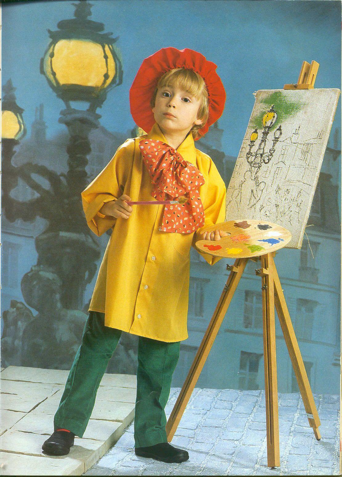 Disfraz de pintor   -   Artist costume