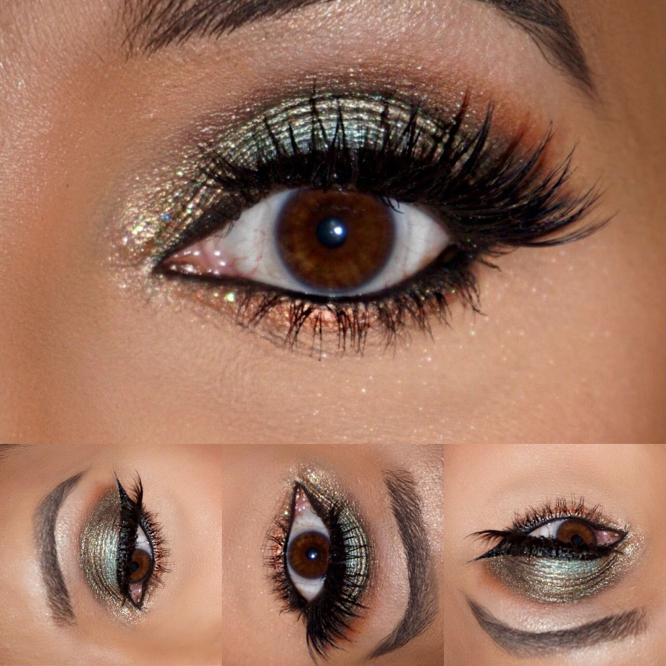 Green Eye Makeup!!! Products used to create this look