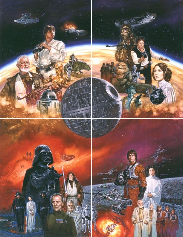 Star Wars - A New Hope - Dave Dorman