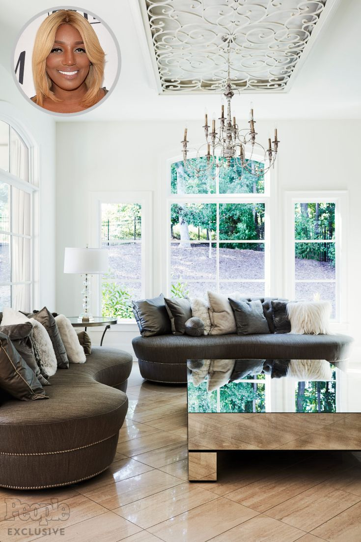 See Inside These Amazing Celebrity Living Rooms | Nene leakes ...